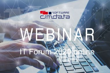 Online Webinare zum IT Forum bei cimdata software am 12. November 2020