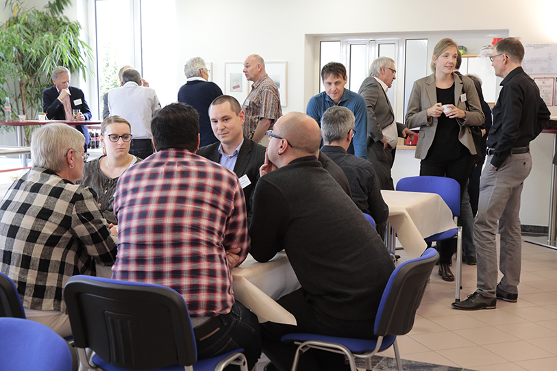 Kundentreffen am IT Forum 2019 bei cimdata software. Foto.